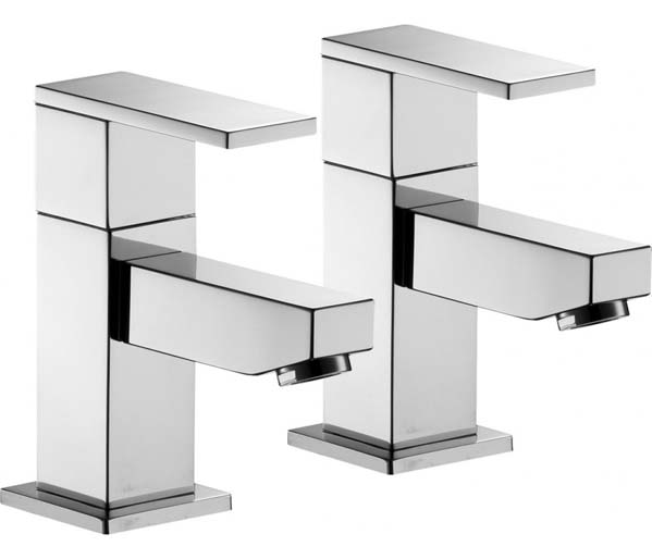 Bloque Bath Taps Chrome