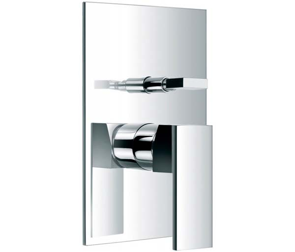 Bloque Manual Shower Valve & Diverter Chrome