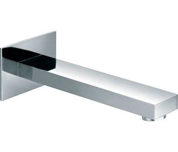 Bloque Wall Spout  for Basin / Bath Chrome