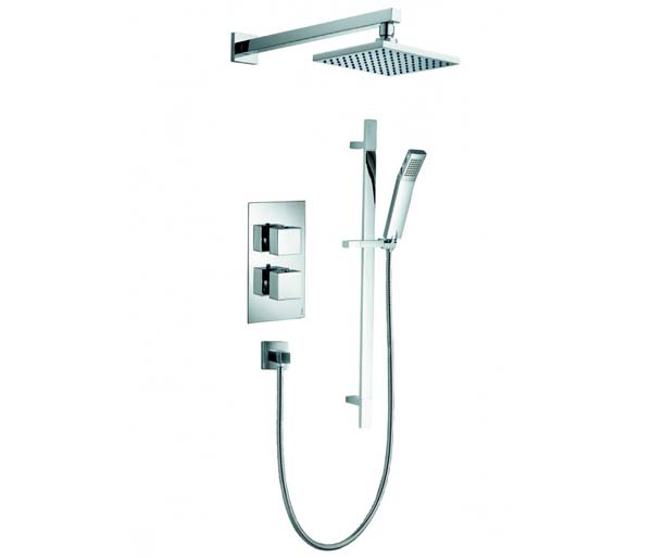 BQ2 Shower Pack - Valve_Slide Bar_Overhead