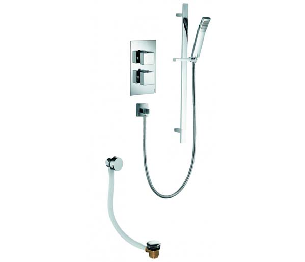 BQ2 Shower Pack - Valve_Slide Bar_Bathfill