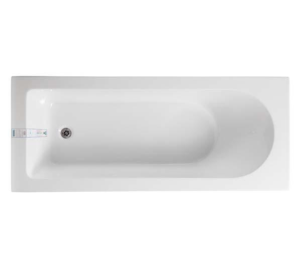 Wave Eco Single Ended 1700x700mm Bath
