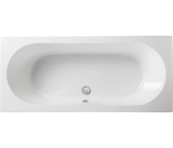 Wave 1700x750mm Double Ended Bath