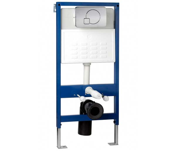 Standard Height WC Frame - Front Flush