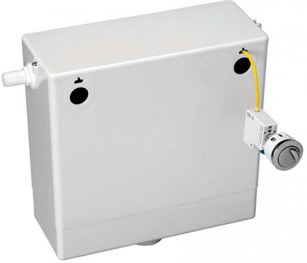 Concealed Cistern with Dual Flush Button