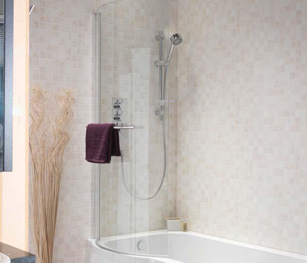 Suburb Shower Bath Screen