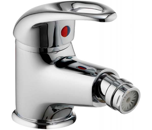 Dv8 Bidet Mixer with Clicker Waste