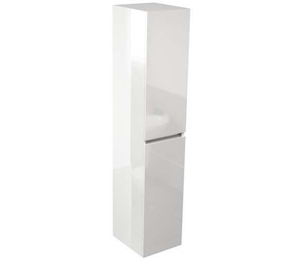 Echo 350mm Tall Storage Unit White Gloss