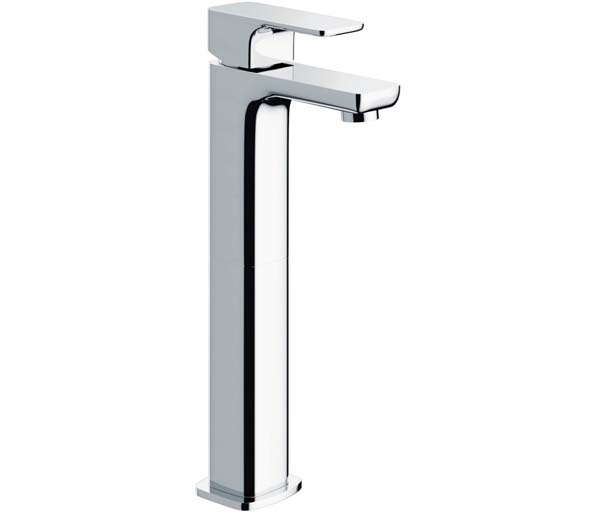 Flite Tall Basin Mixer with Clicker Waste