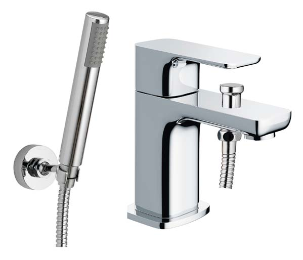 Flite Mono Bath Shower Mixer Chrome