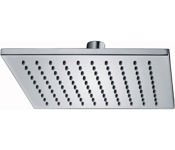 Deluxe Square Shower Head 200mm Chrome