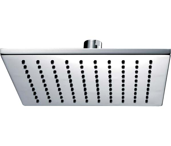 Deluxe Square Shower Head 250mm Chrome
