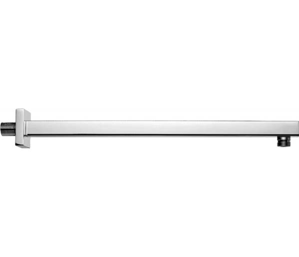 400mm Square Shower Arm - Wall