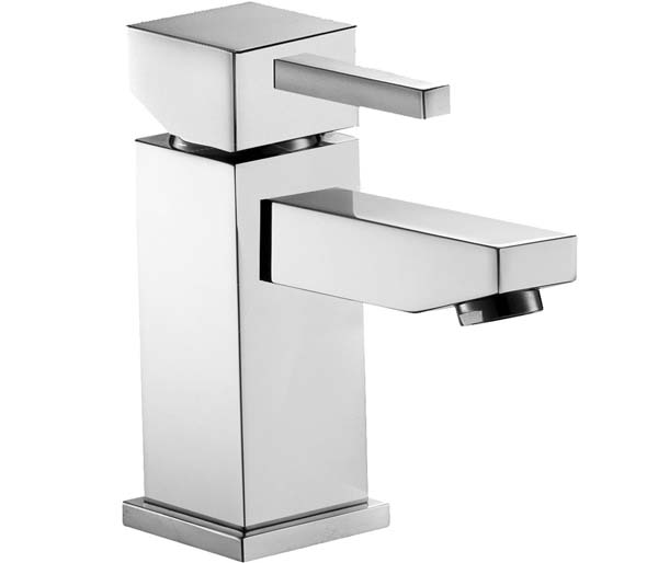 SQ2  Small Basin Mixer with Clicker Waste