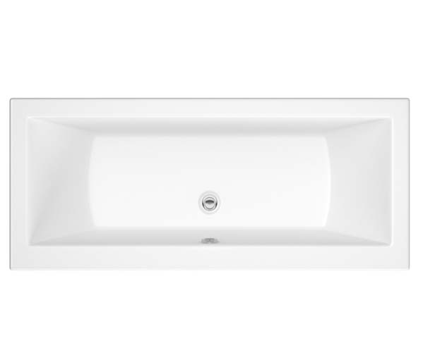 SQR Double Ended Bath 1700x700mm