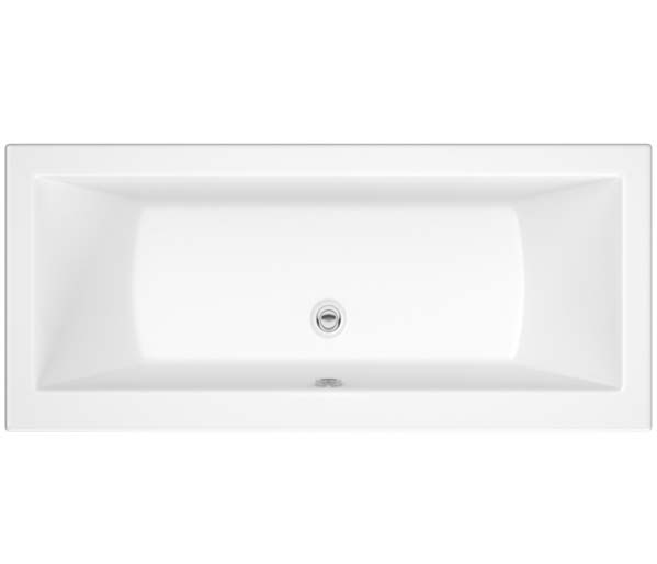 SQR Double Ended Bath 1800x800mm