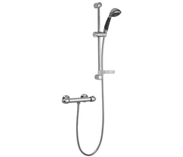 Thermoforce  Thermostatic Bar Shower Kit