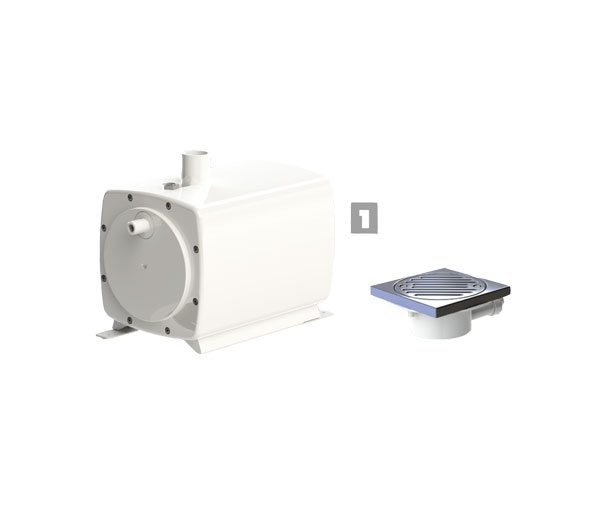 Sanifloor 1 (Tiled Floor) Grey Water Pump