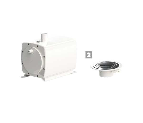 Sanifloor 2 (Vinyl Floor) Grey Water Pump