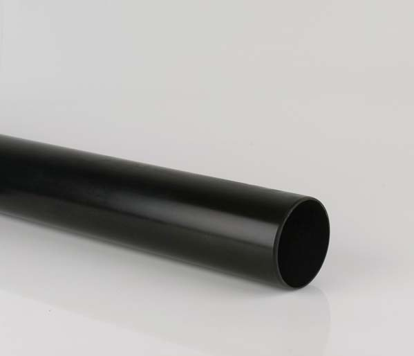 110mm Black Soil 3m Pipe