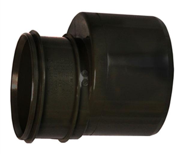 110-82mm Black Solvent Soil Pipe Reducer