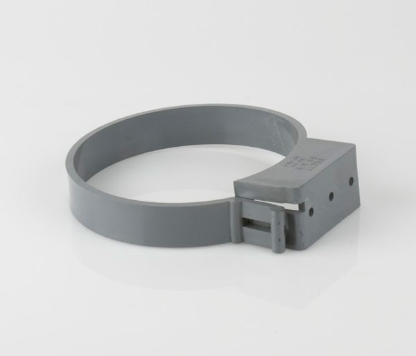 110mm Light Grey Single Fix Clip