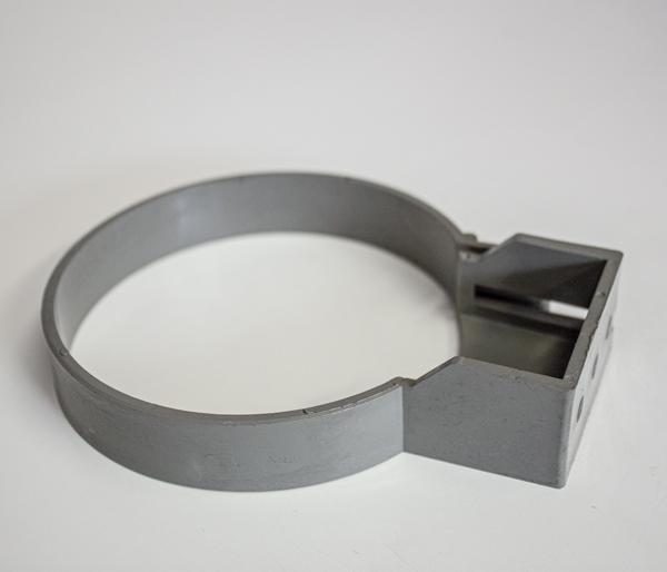 Solvent 110mm Olive Grey Single Fix Clip