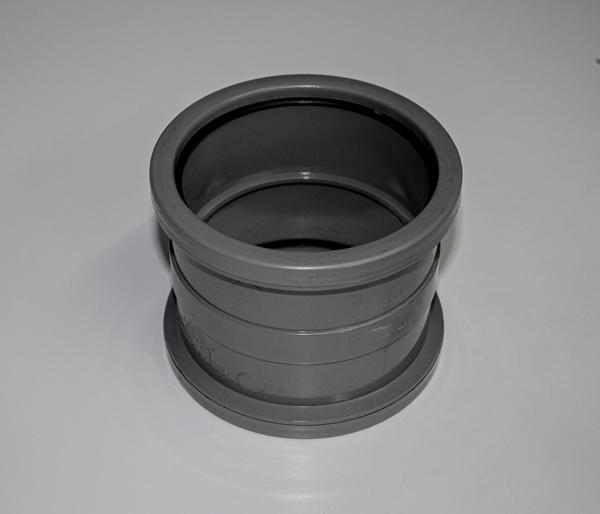 110mm Olive Grey Solvent Pushfit Coupling
