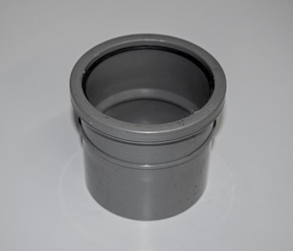 110mm Olive Grey Solvent S/Socket Coupler
