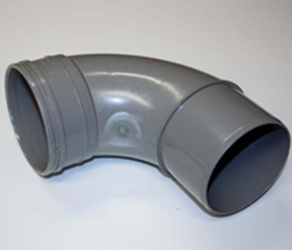 110mm Olive Grey Solvent 92\' S/Socket Bend