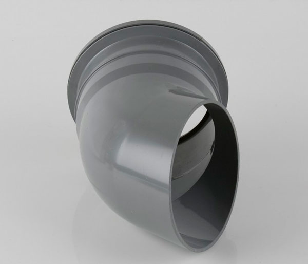 160mm Grey 112.5\' Downpipe Shoe