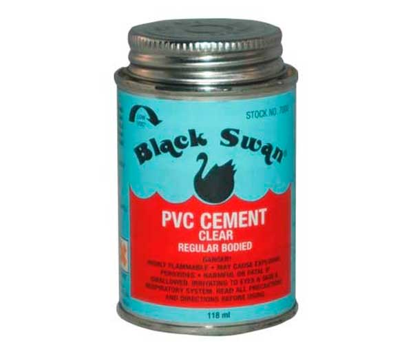 Black Swan 118ml Solvent Cement
