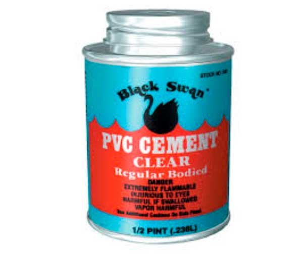 Black Swan 236ml Solvent Cement