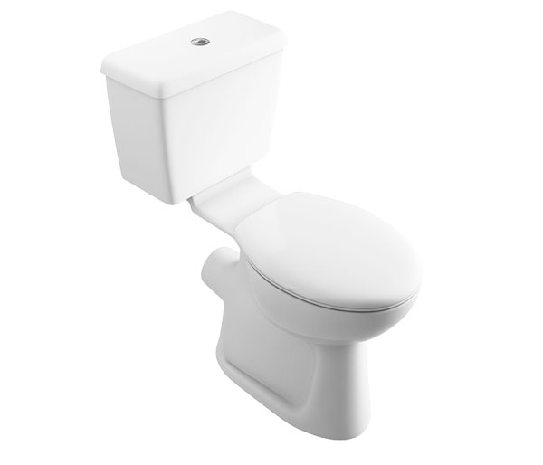 T&L Care Comfort Height Push Button Type WC