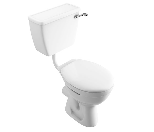 T&L Care Comfort Height Lever Low Level WC