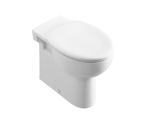 T&L Care Back To Wall Pan 450mm High