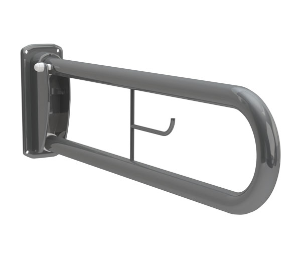 T&L Care Hinged Support Rail Grey