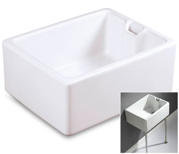 T&L Commercial 600mm Belfast Catering Sink
