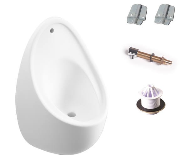 T&L Commercial 600mm Boxed Urinal Set (Exp)