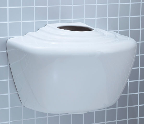 T&L Commercial China Urinal Cistern 4.5 Litre