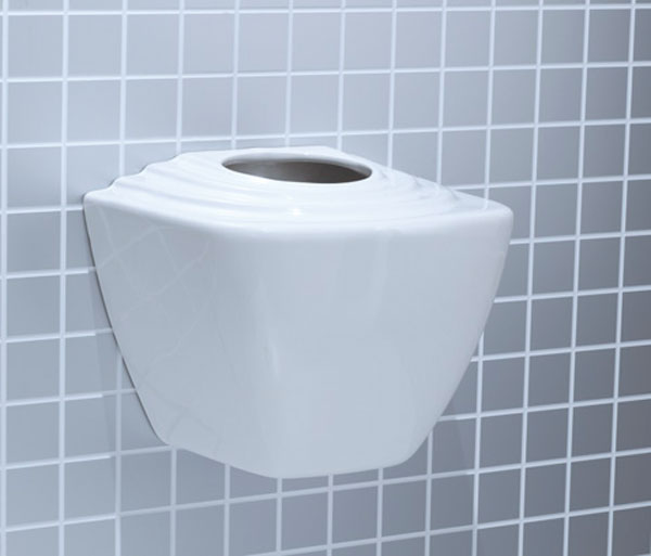 T&L Commercial China Urinal Cistern 13 Litre