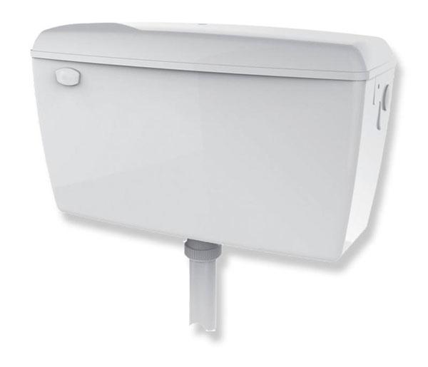 T&L Commercial Conc Urinal Cistern 13 Litre