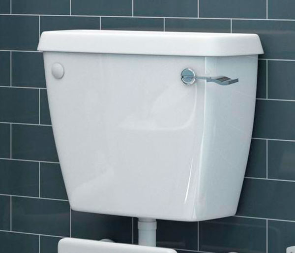 T&L Schools Low Level Lever Cistern