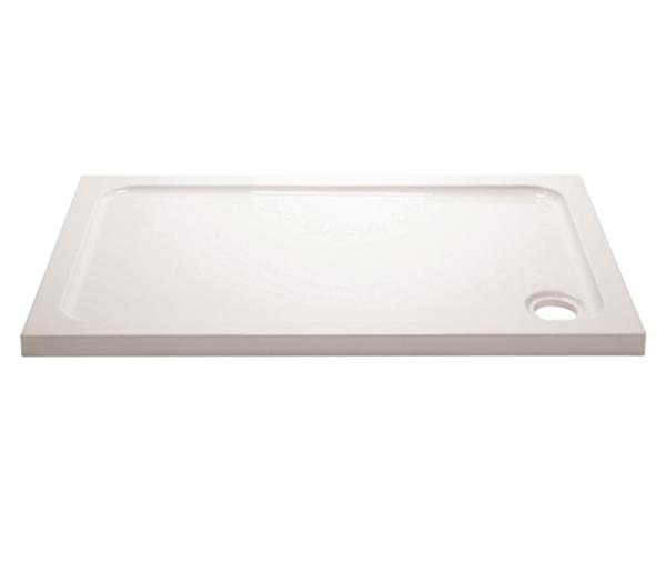 Wafer Minimalist Shower Tray 900x800mm