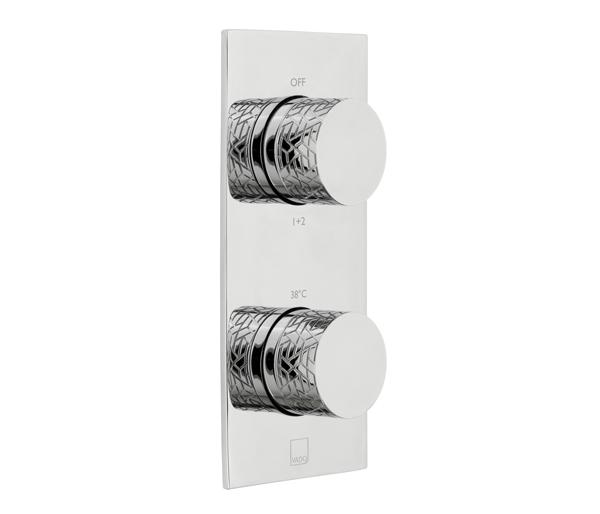 Omika 2 Outlet Vertical Shower Valve