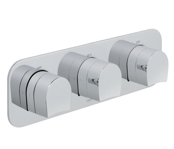 Kovera 2 Outlet Horizontal Shower Valve
