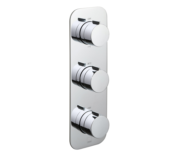 Altitude 3 Outlet Vertical Shower Valve