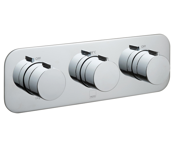Altitude 3 Outlet Horizontal Shower Valve