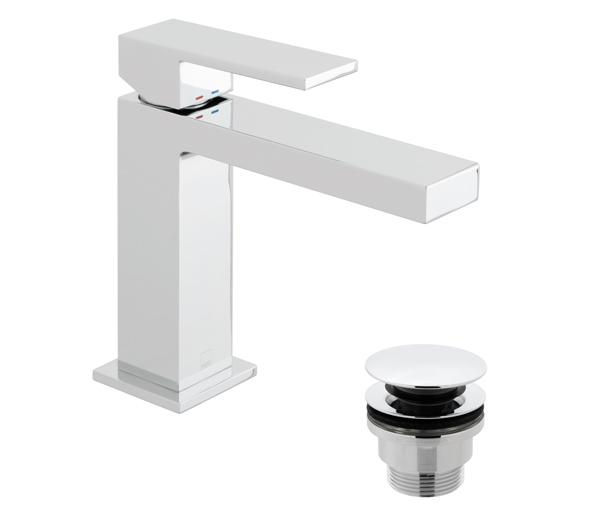 Notion Slim Basin Mixer Inc Waste