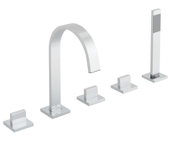 Geo 5 Hole Bath Shower Mixer